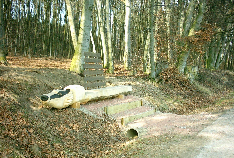 2008 4 Bänke - Landschaftskunstpfad