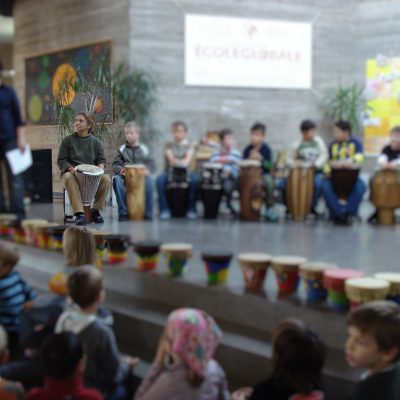 Afrikatag Suthwiesenschule mit Freundeskreis Tambacounda