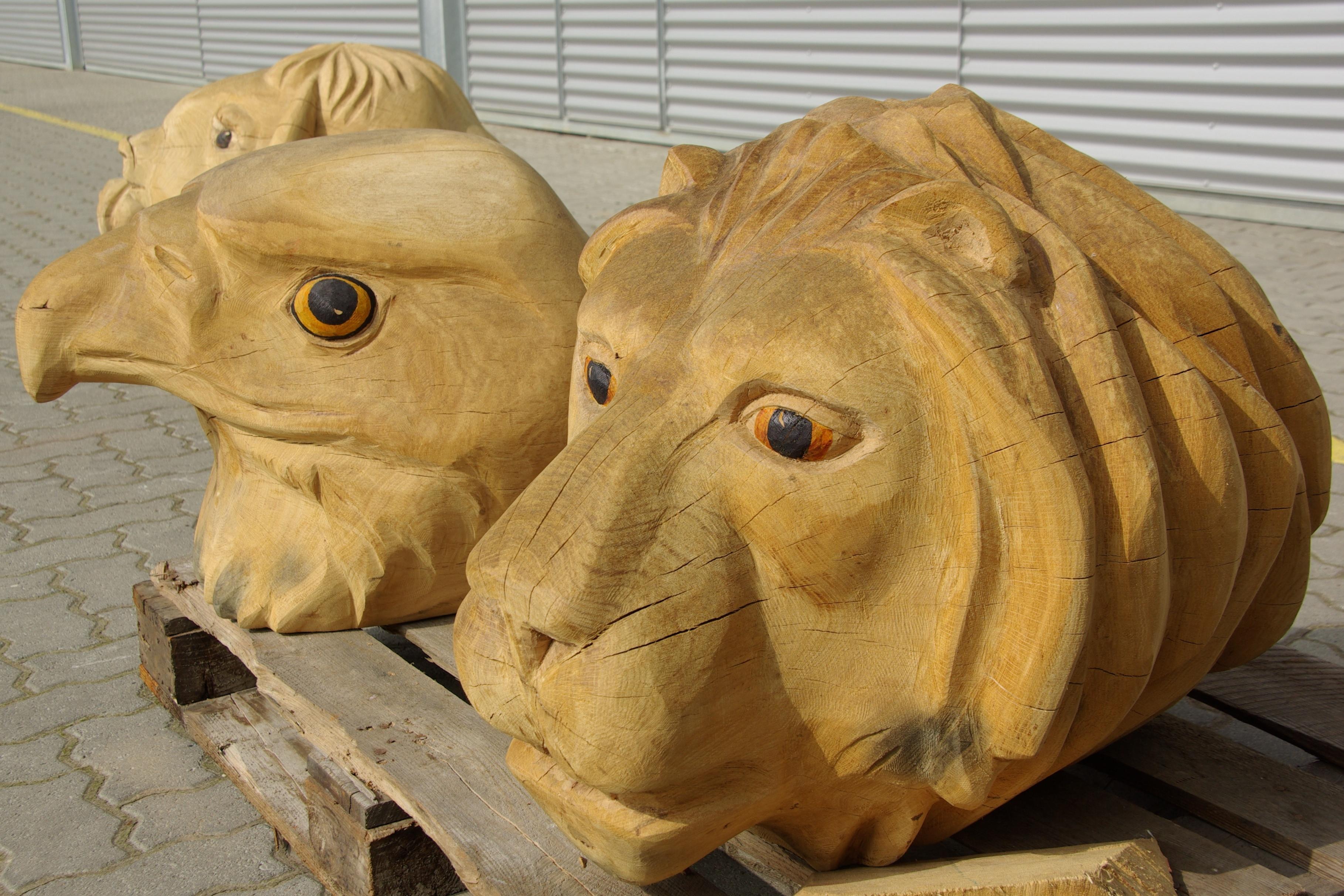 2011 Tierköpfe - Kita Heidering