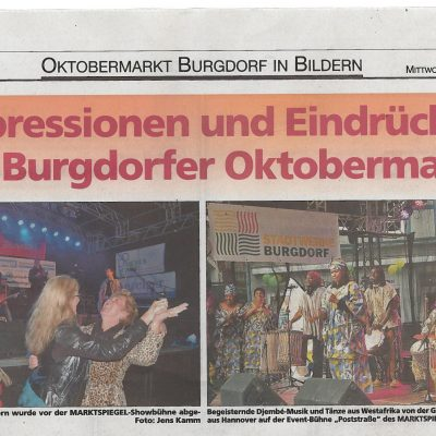 Bantamba Presse Oktobermarkt