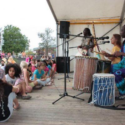 Meinfest13 AfroMAnding Bühne